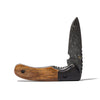Laramie Knifeworks - Fossil Bone and Buffalo Horn Knife - MAN of the WORLD Online Destination for Men's Lifestyle - 1