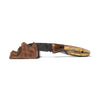 Laramie Knifeworks - Ox Horn Bark and Fossil Bison Bone Knife - MAN of the WORLD Online Destination for Men's Lifestyle - 5