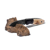 Laramie Knifeworks - Wooly Mammoth Ivory and Gabon Ebony Knife - MAN of the WORLD Online Destination for Men's Lifestyle - 4