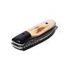 Laramie Knifeworks - Wooly Mammoth Ivory and Gabon Ebony Knife - MAN of the WORLD Online Destination for Men's Lifestyle - 6