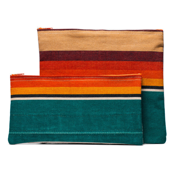 Canvas Pouch - Green