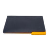 MAN OF THE WORLD - Leather Folder - Navy & Yellow - MAN of the WORLD Online Destination for Men's Lifestyle - 4