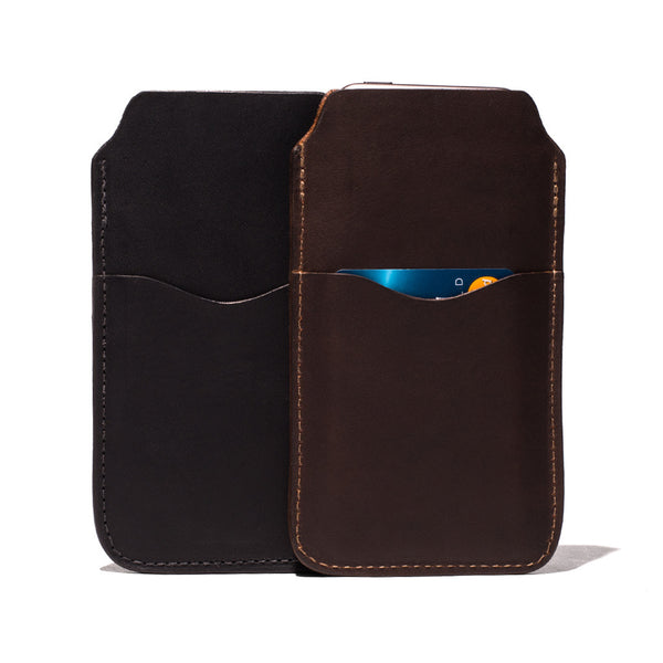 Leather iPhone 6 Case - 3 Pockets