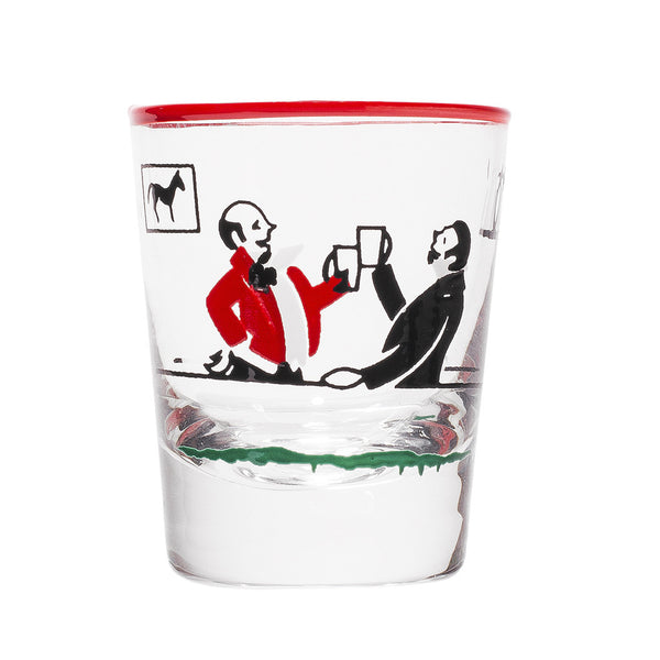 Libbey Glass - Painted Shot Glasses - MAN of the WORLD Online Destination for Men's Lifestyle