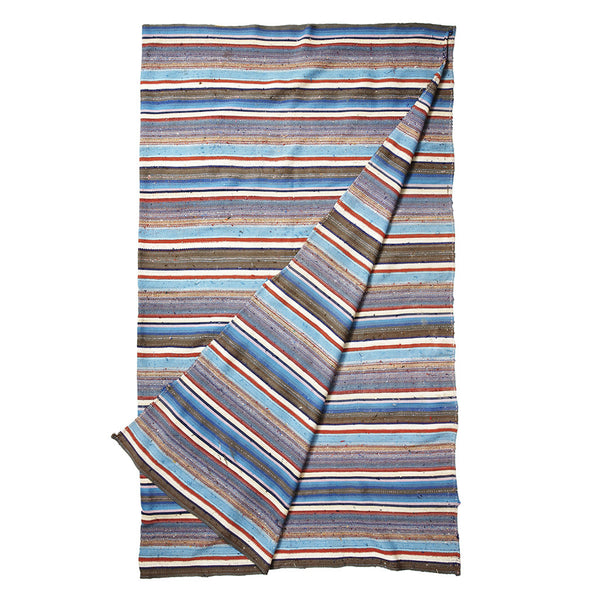 Nomadic Trading Co. - Blue and Red Striped Chaput - MAN of the WORLD Online Destination for Men's Lifestyle - 2