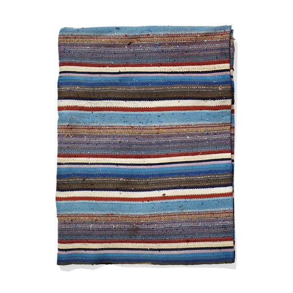 Nomadic Trading Co. - Blue and Red Striped Chaput - MAN of the WORLD Online Destination for Men's Lifestyle - 1
