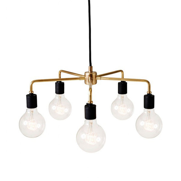 Leonard Brass Chandelier