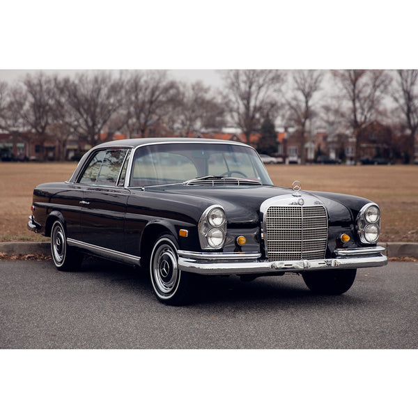 MERCEDES - 1968 280 SE Coupe - MAN of the WORLD Online Destination for Men's Lifestyle - 1