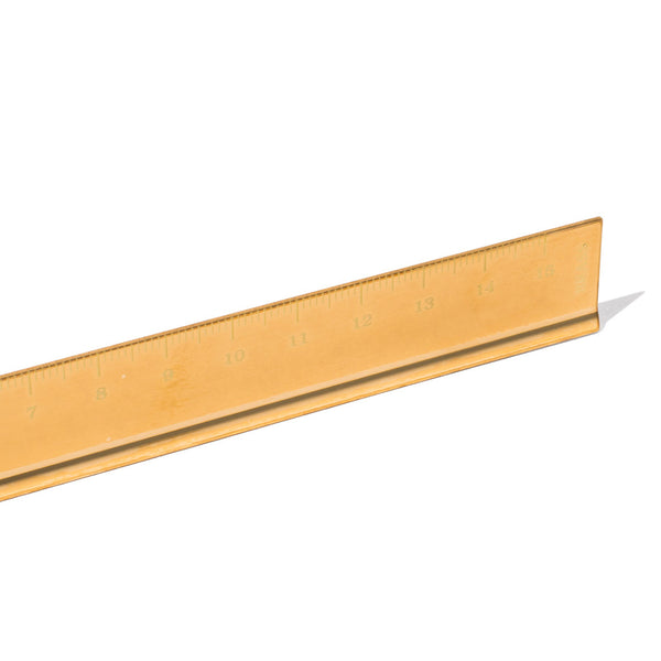 Midori - Solid Brass Centimeter Ruler - MAN of the WORLD Online Destination for Men's Lifestyle - 3
