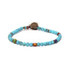 MIKIA - Round Beaded Turquoise Bracelet - MAN of the WORLD Online Destination for Men's Lifestyle - 1