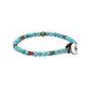 MIKIA - Round Beaded Turquoise Bracelet - MAN of the WORLD Online Destination for Men's Lifestyle - 2