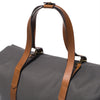 Mismo - Oversized Tote - Grey Canvas & Brown Leather - MAN of the WORLD Online Destination for Men's Lifestyle - 8