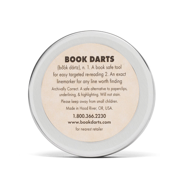 Book Darts - Mixed Metal Book Darts - MAN of the WORLD Online Destination for Men's Lifestyle - 5