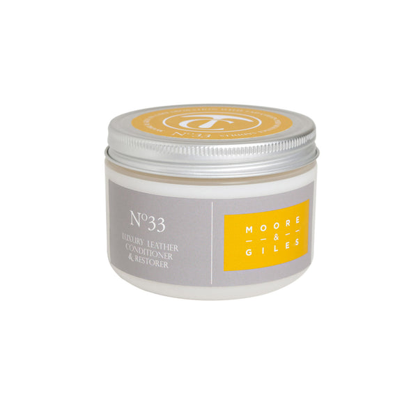 No. 33 Luxury Leather Conditioner & Restorer
