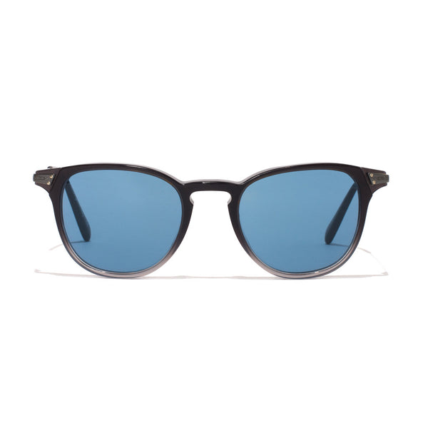 Ennis Sunglasses - Grey Gradient & Pewter