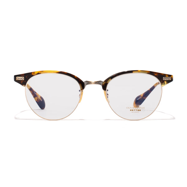 Oliver Peoples - Executive II Glasses - Tortoise & Antique Gold - MAN of the WORLD Online Destination for Men's Lifestyle - 1