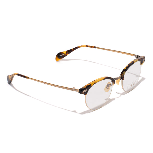 Oliver Peoples - Executive II Glasses - Tortoise & Antique Gold - MAN of the WORLD Online Destination for Men's Lifestyle - 2