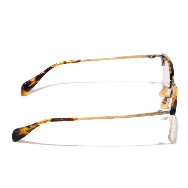 Oliver Peoples - Executive II Glasses - Tortoise & Antique Gold - MAN of the WORLD Online Destination for Men's Lifestyle - 3