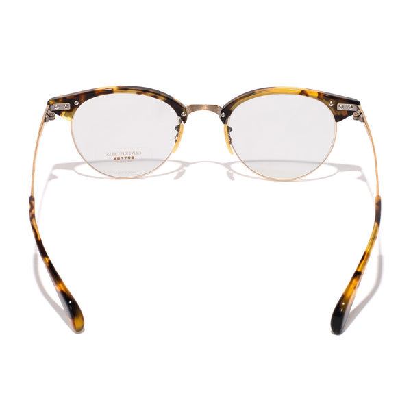 Oliver Peoples - Executive II Glasses - Tortoise & Antique Gold - MAN of the WORLD Online Destination for Men's Lifestyle - 4