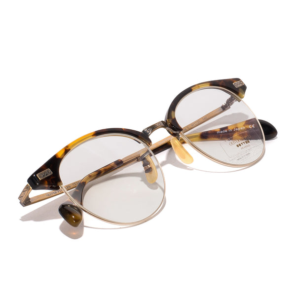 Oliver Peoples - Executive II Glasses - Tortoise & Antique Gold - MAN of the WORLD Online Destination for Men's Lifestyle - 5