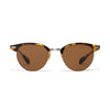 Oliver Peoples - Executive II Sunglasses - Tortoise & Antique Gold - MAN of the WORLD Online Destination for Men's Lifestyle - 1