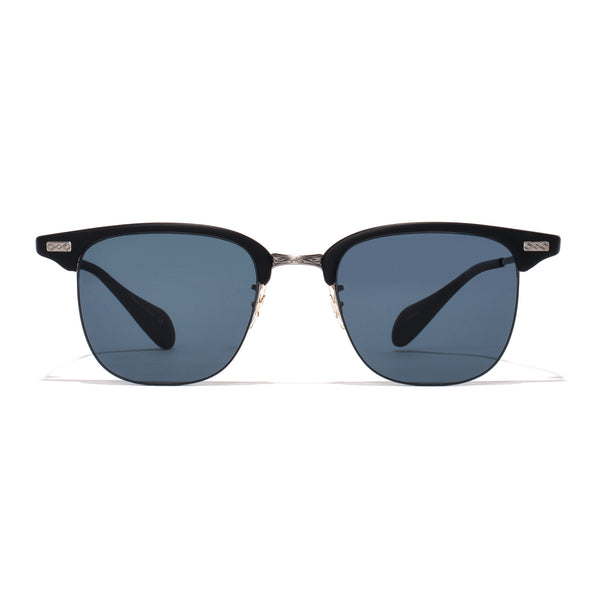 Executive I Sunglasses - Matte Black & Pewter