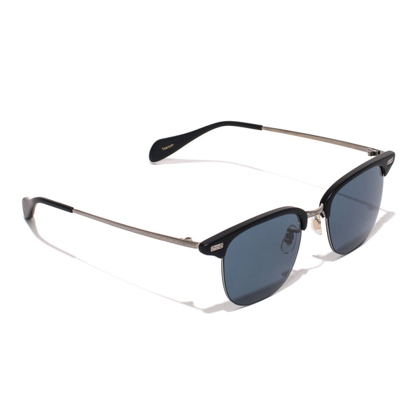Oliver Peoples - Executive I Sunglasses - Matte Black & Pewter - MAN of the WORLD Online Destination for Men's Lifestyle - 2