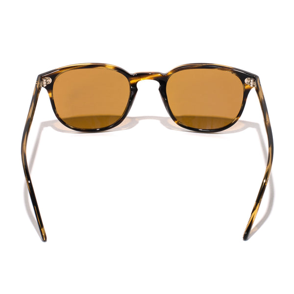 Oliver Peoples - Fairmont Sunglasses - Cocobolo - MAN of the WORLD Online Destination for Men's Lifestyle - 4