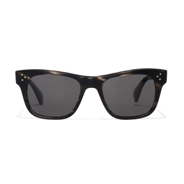 Oliver Peoples - Jack Huston Sunglasses - Semi Matte Ebonywood - MAN of the WORLD Online Destination for Men's Lifestyle - 1