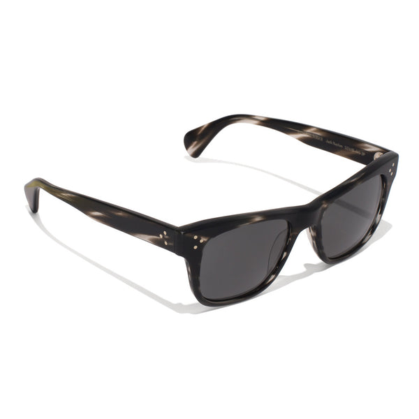 Oliver Peoples - Jack Huston Sunglasses - Semi Matte Ebonywood - MAN of the WORLD Online Destination for Men's Lifestyle - 2