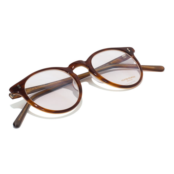 Oliver Peoples - O'Malley Glasses - Brown Tortoise Cream - MAN of the WORLD Online Destination for Men's Lifestyle - 5