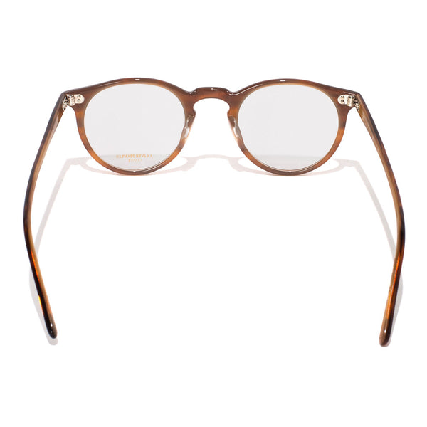 Oliver Peoples - O'Malley Glasses - Brown Tortoise Cream - MAN of the WORLD Online Destination for Men's Lifestyle - 4