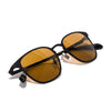 Oliver Peoples - Pressman Custom Sunglass - Matte Black - MAN of the WORLD Online Destination for Men's Lifestyle - 5