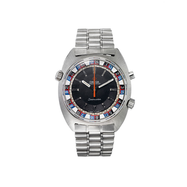 "OMEGA - Seamaster ""Chronostop"" - MAN of the WORLD Online Destination for Men's Lifestyle - 1"