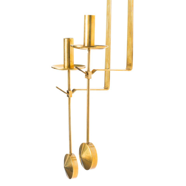 Skultuna - Brass Candle Sconce Set - MAN of the WORLD Online Destination for Men's Lifestyle - 3