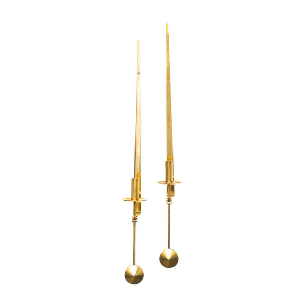 Skultuna - Brass Candle Sconce Set - MAN of the WORLD Online Destination for Men's Lifestyle - 4