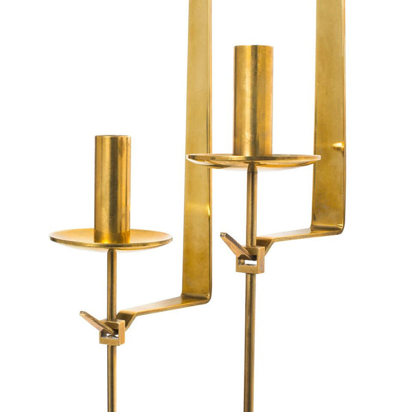Skultuna - Brass Candle Sconce Set - MAN of the WORLD Online Destination for Men's Lifestyle - 6