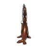 Continental - Bronze Seal Oil Lamps - MAN of the WORLD Online Destination for Men's Lifestyle - 4