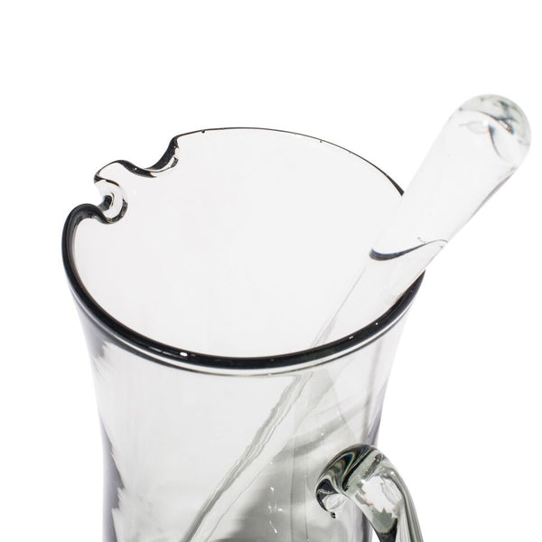 VINTAGE - Concave Glass Martini Pitcher - MAN of the WORLD Online Destination for Men's Lifestyle - 3