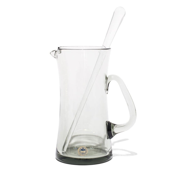 VINTAGE - Concave Glass Martini Pitcher - MAN of the WORLD Online Destination for Men's Lifestyle - 1