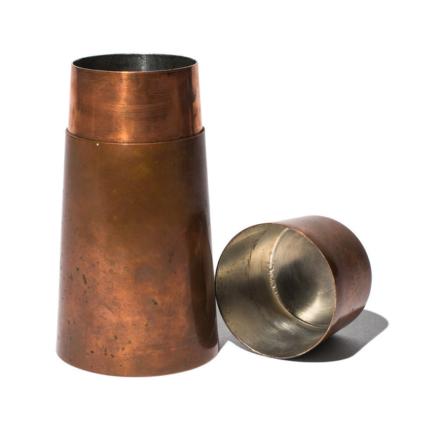 VINTAGE - Copper Cocktail Shaker - MAN of the WORLD Online Destination for Men's Lifestyle - 2