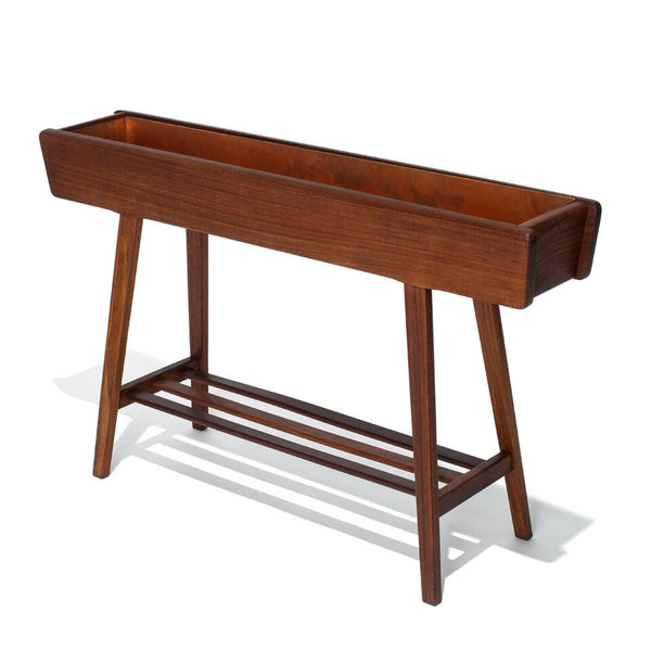 VINTAGE - Danish Teak Floor Planter - MAN of the WORLD Online Destination for Men's Lifestyle - 6