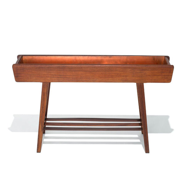 VINTAGE - Danish Teak Floor Planter - MAN of the WORLD Online Destination for Men's Lifestyle - 8