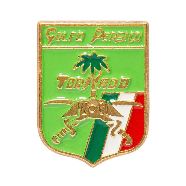 Vintage Military Pins - Italian Persian Gulf Tornado Plane Pin - MAN of the WORLD Online Destination for Men's Lifestyle - 1