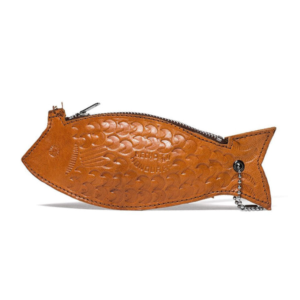 VINTAGE - Leather Fish Pouch - MAN of the WORLD Online Destination for Men's Lifestyle - 2