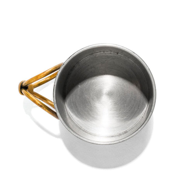 VINTAGE - Pewter Cup with Brass Handle - MAN of the WORLD Online Destination for Men's Lifestyle - 6