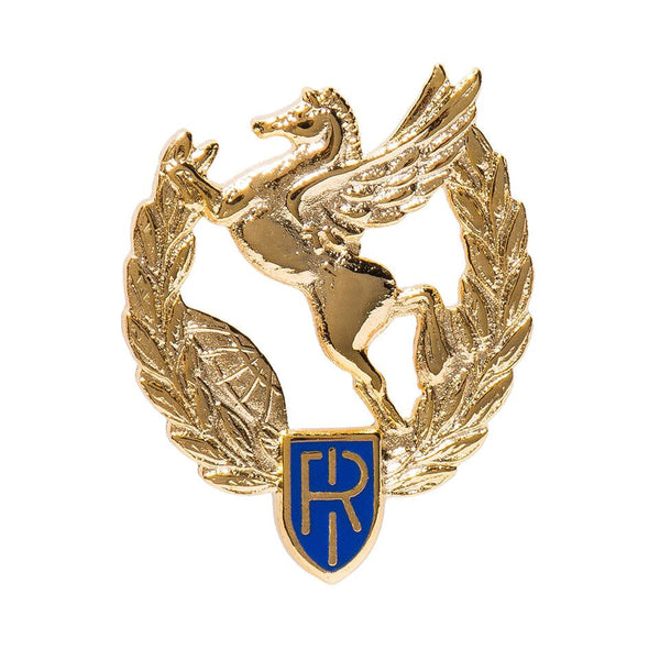 Gold Italian Republic Pin