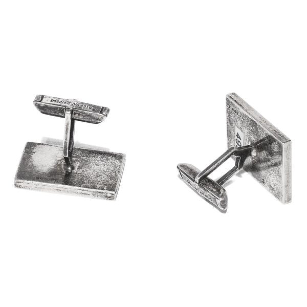 Macdonald - Sterling Silver Fish Cufflinks - MAN of the WORLD Online Destination for Men's Lifestyle - 2