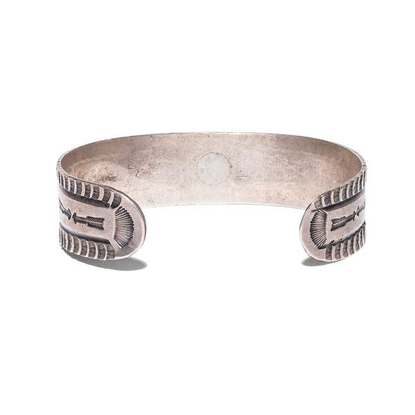 VINTAGE - Navajo Stamped Arrow Cuff - MAN of the WORLD Online Destination for Men's Lifestyle - 3
