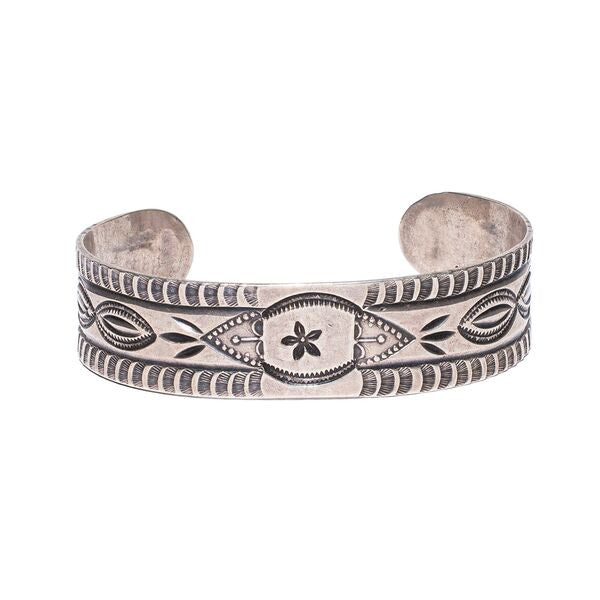 Navajo Stamped Arrow Cuff